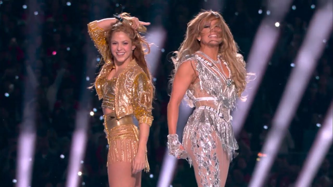Shakira & Jennifer López Halftime Show Full Super Bowl 2020