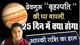 29 MARCH से Guru स्वगृही | Rashi parivartan | Jupiter Transit 2019 जानिए Rashifal by Suresh Shrimali