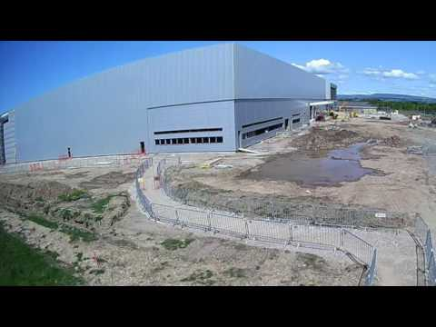 Defence & Logistics Centre, BAE Systems Samlesbury (Timelapse Film)