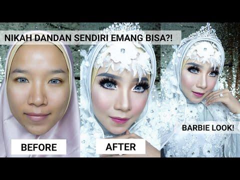 Nikah Dandan Sendiri Tutorial Makeup Pengantin Hijab