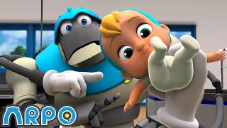Arpo the Robot | Accidents Happen!! | NEW VIDEO | Funny Cartoons for Kids | Arpo and Daniel