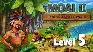 moai 2 path to another world walkthrough level 5