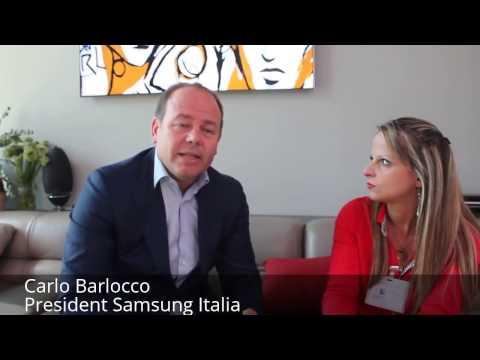 Intervista a Carlo Barlocco, President di Samsung Italia, per Monclick Magazine