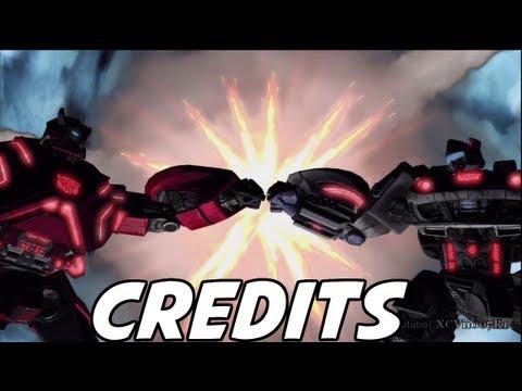 Transformers: Fall of Cybertron - CREDITS