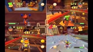 Midnight Gaming: Pacman World Rally