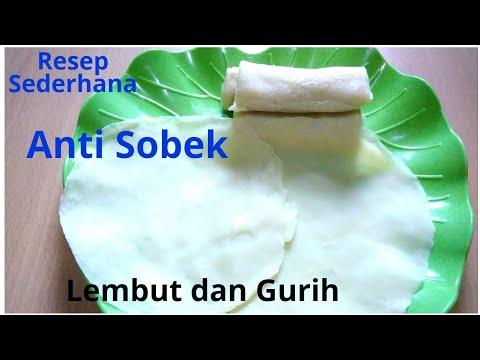 Resep kulit risoles anti sobek dan lembut