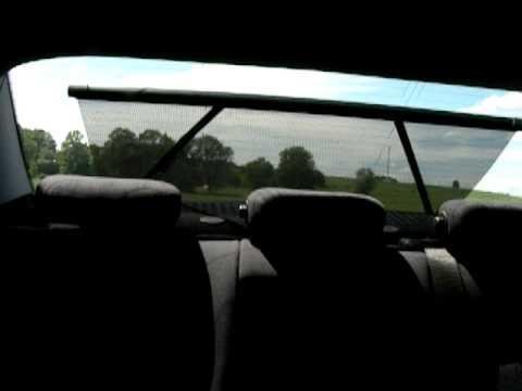 Terren Sonnenschutz Elektrisch | Code 540 Rollo Elektrisch Fur Heckfenster Im W203 Nachgerustet Youtube