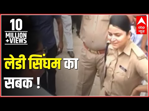 Sansani: 'Lady Singham' Shreshtha Singh teaches a lesson to unruly BJP workers