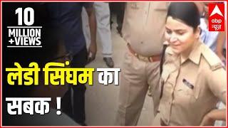 Sansani: 'Lady Singham' Shreshtha Singh teaches a lesson to unruly BJP workers