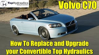 Volvo C70 - How to Replace the Convertible Hydraulic System - Chapter 1 - Introduction