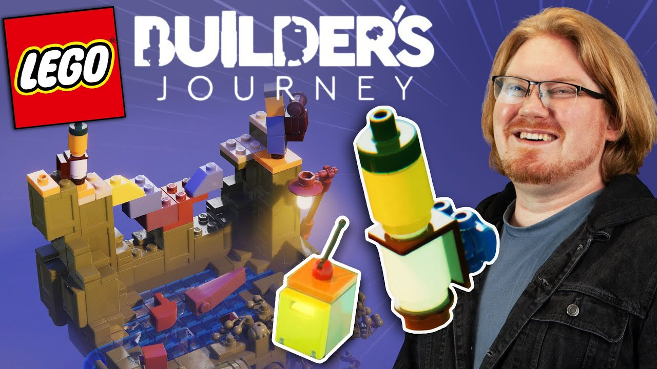 Building with a Robot - LEGO Builder's Journey #AD