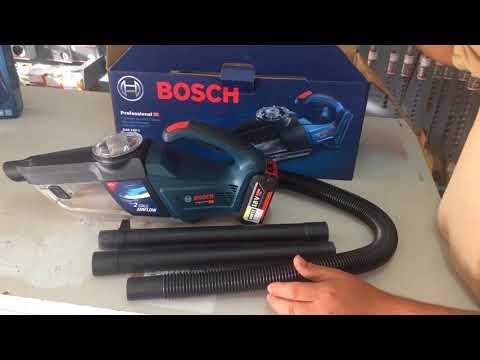 Видео обзор: Пылесос BOSCH GAS 18V-1 Solo без АКБ и ЗУ