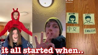 it all started when..~tik tok