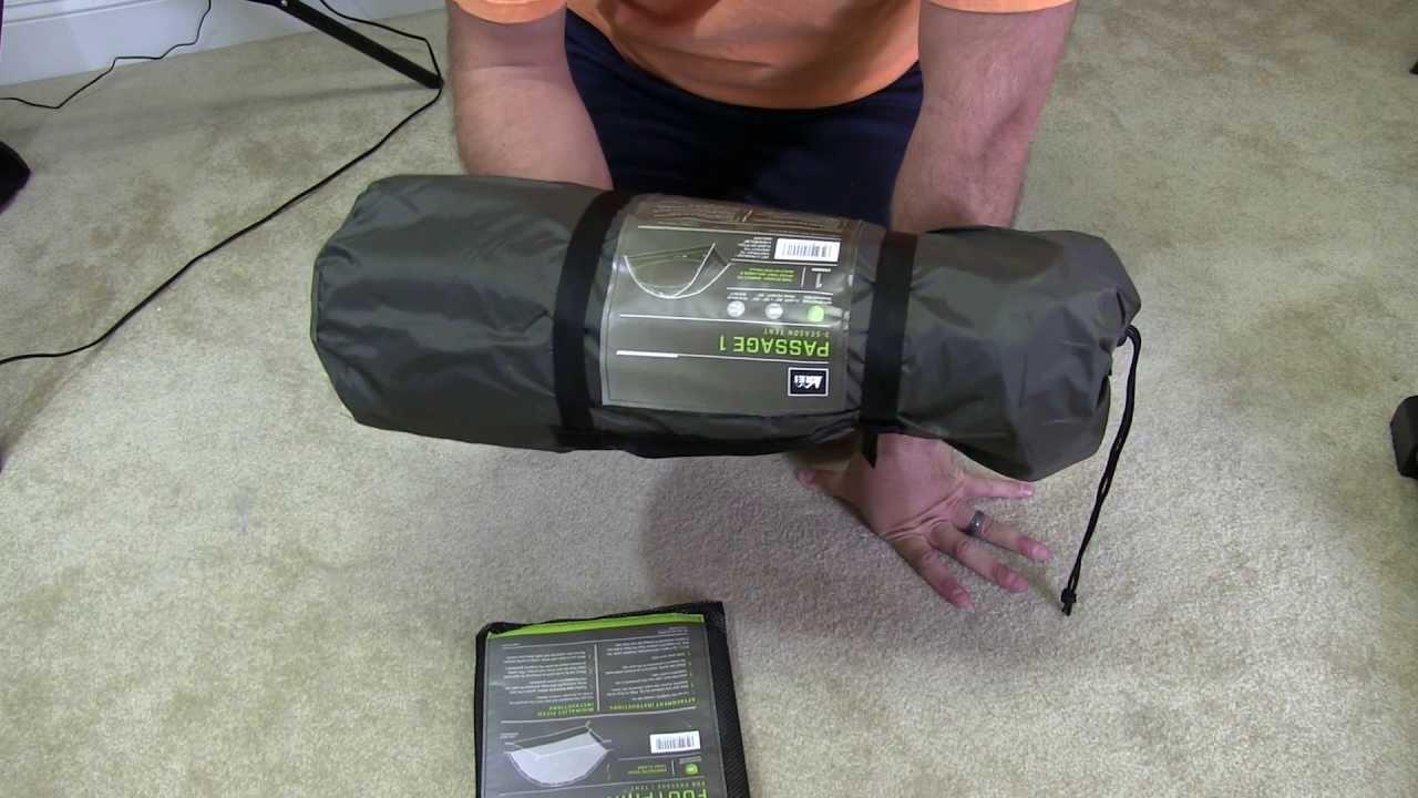 REI Passage 1 Tent u0026 Footprint Unboxing & REI Passage 1 Tent u0026 Footprint Unboxing - YouTube