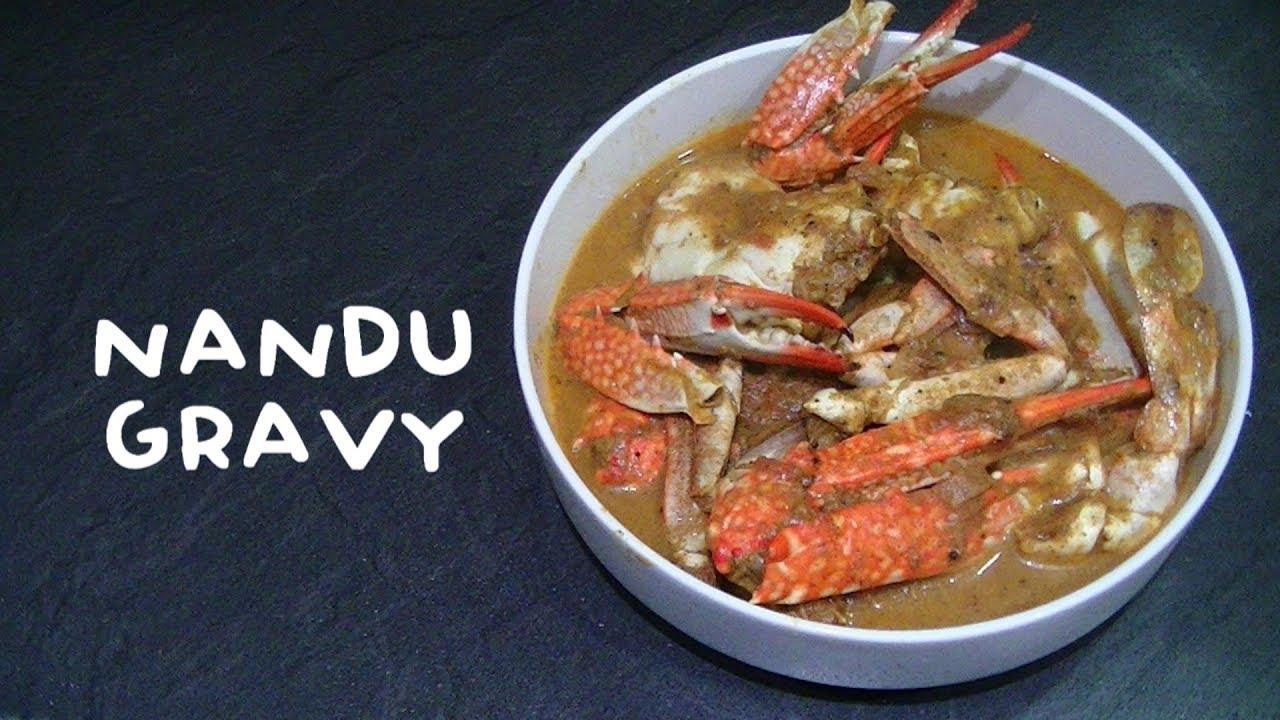 how to prepare nandu kulambu