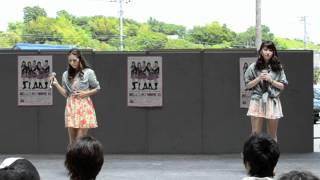 「山口活性学園」 YULY & KRISTINA 2012/6/10(日)ザモール周南で歌った「TICO」