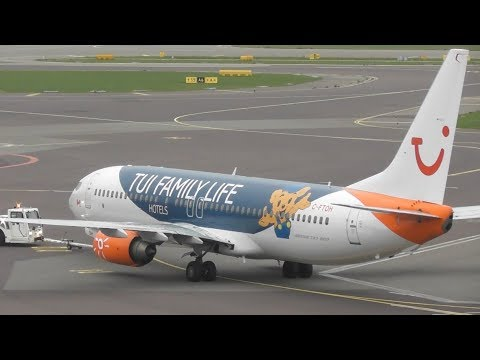 Amsterdam Schiphol Airport Plane Spotting - Panorama Terrace! Ground Movements + More!