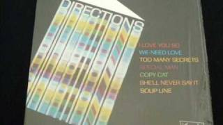 Directions - I Love You So