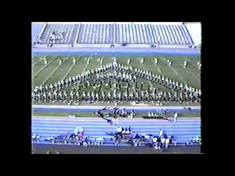 Elko High School Marching Band 1990 UNR Performance