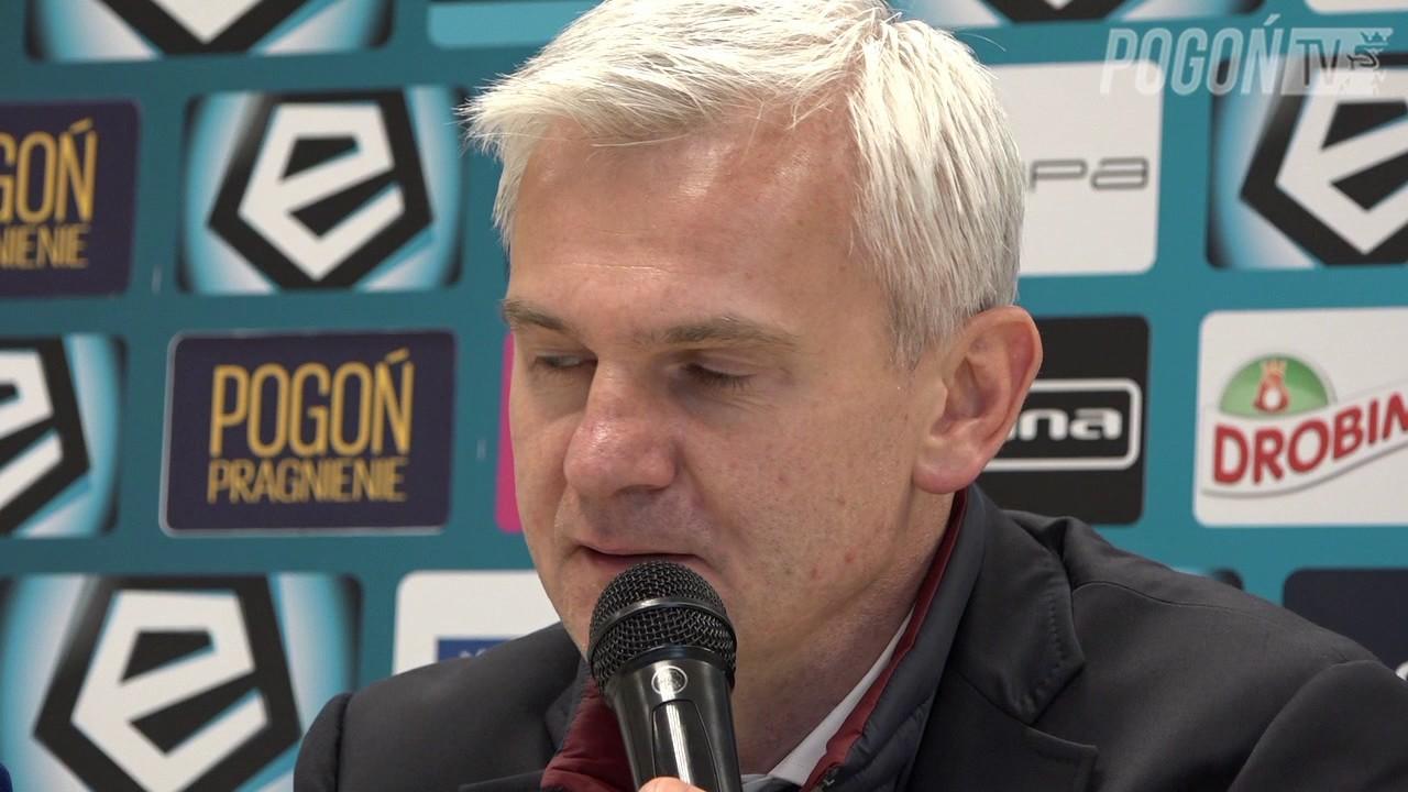 Pogoń Szczecin 0-2 Legia Warszawa 7.05.2017 (KONFERENCJA)