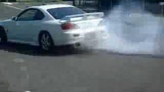 200sx S15 SpecR GT Burnout