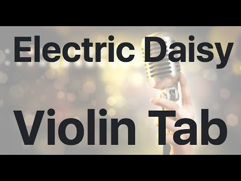 Learn Electric Daisy on Violin - How to Play Tutorial