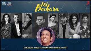 Gambar cover Dil Bechara - A musical tribute to Sushant Singh Rajput
