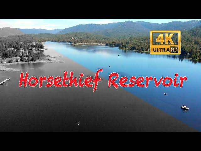 Horsethief Reservoir north of Cascade, Idaho
