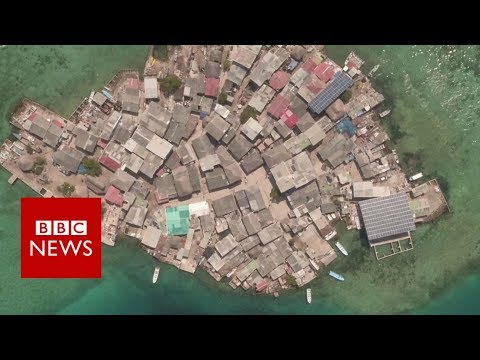The world's most densely packed island - BBC News