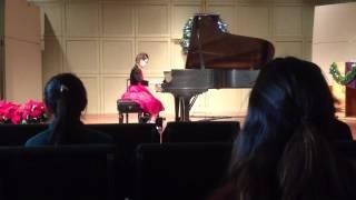 PJ plays Muzio Clementi - Sonatina op. 36 #4: I. Allegro con spirito