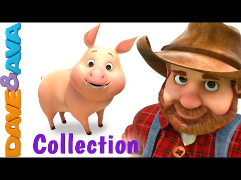 Old MacDonald Had a Farm  Animal Sounds Song  Nursery Rhymes & Ba Songs Collection Dave and Ava