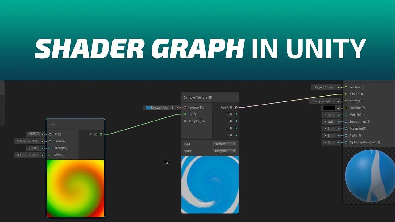 Unity Shader Graph Tutorial Deutsch