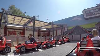 Junior Championship On Ride HD 60FPS POV Ferrari Land PortAventura World