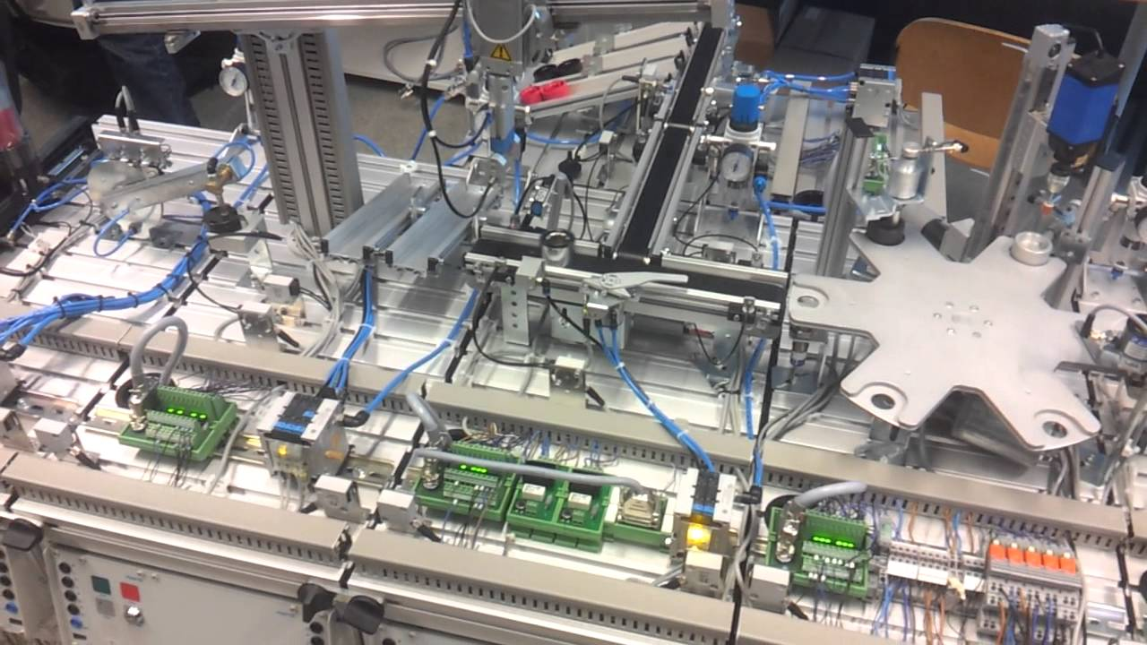 Festo Production Line Of 9 Mps Stations Training At Roc