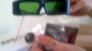 Unbox des lunettes 3D DLP Link Xpand X102 - YouTube.flv