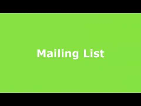 SOLE Mailing List