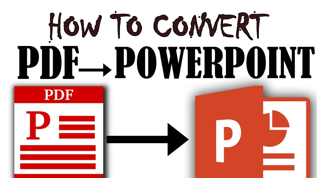 how to make pdr into powerpoint