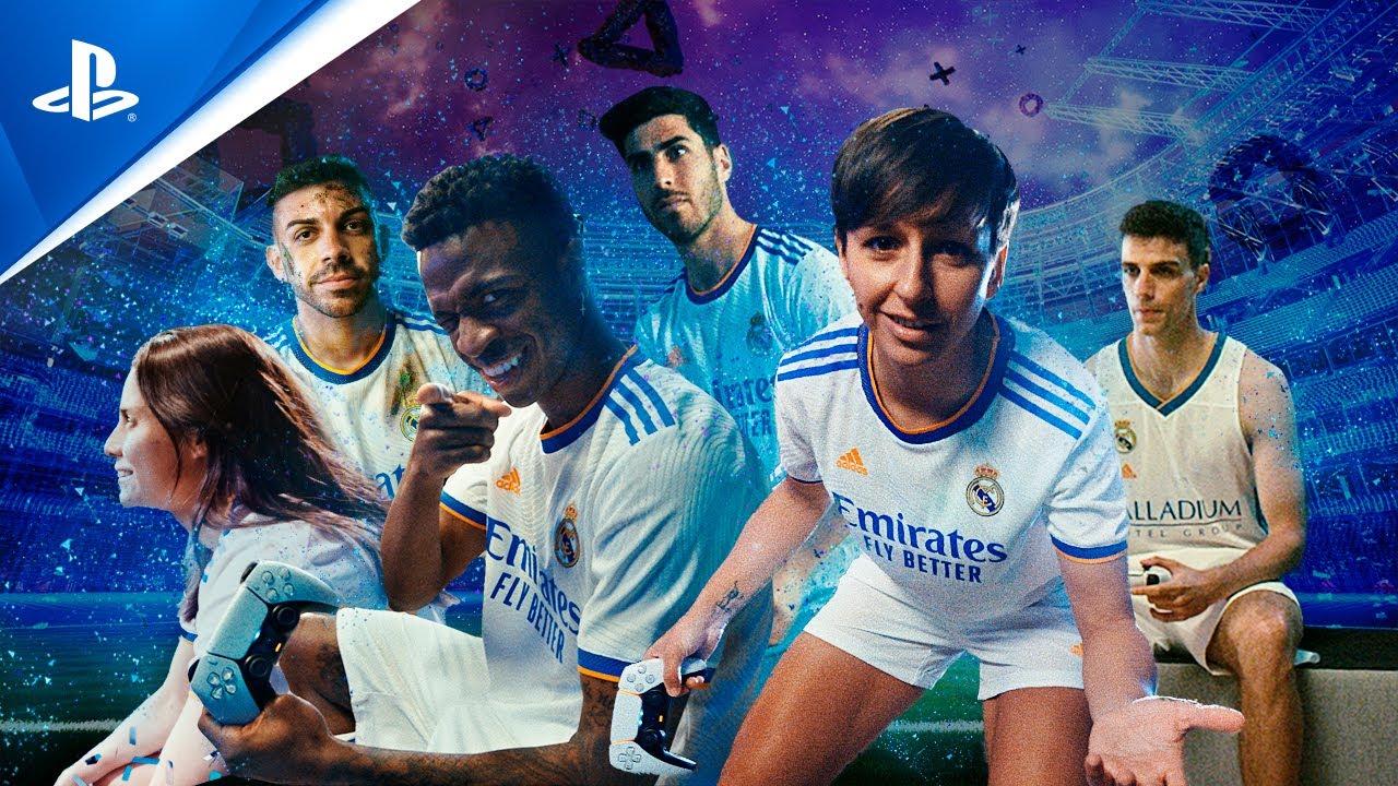 INMERSIÓN SIN LIMITES: PlayStation y Real Madrid con Vinicius, M.Corredera, Alocén, @DjMaRiiO  y más