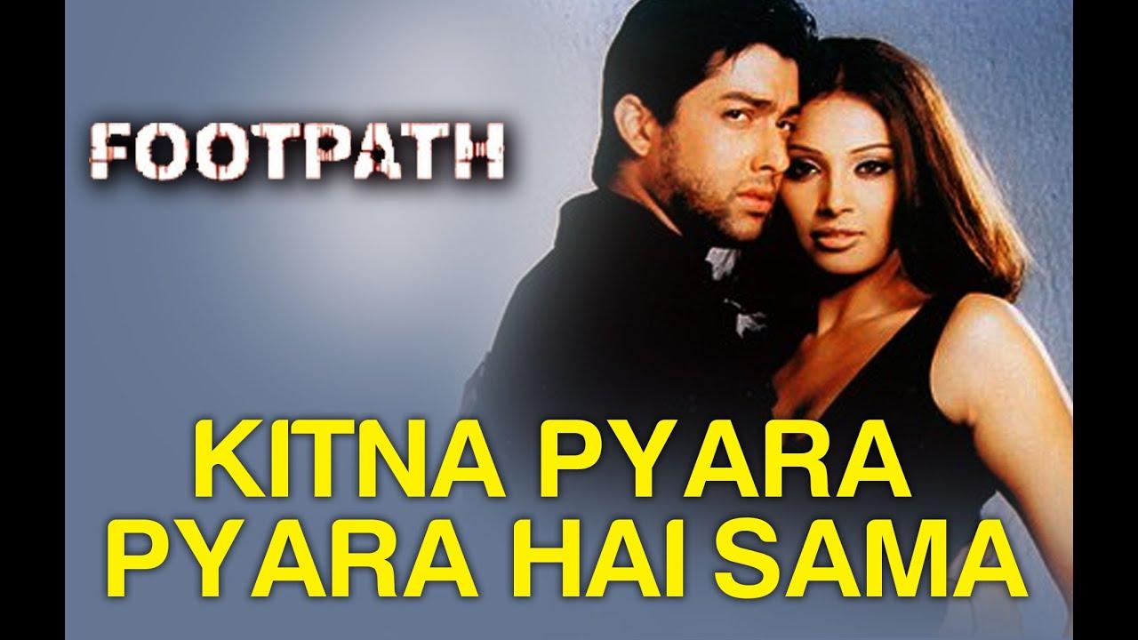 Download Kitna Pyara Pyara Hai Sama Full Video - Footpath | Bipasha Basu & Aftab Shivdasani
