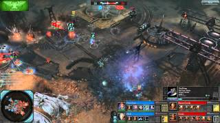 Dawn of War II: Retribution - Faction Battle: Eldar vs. Chaos