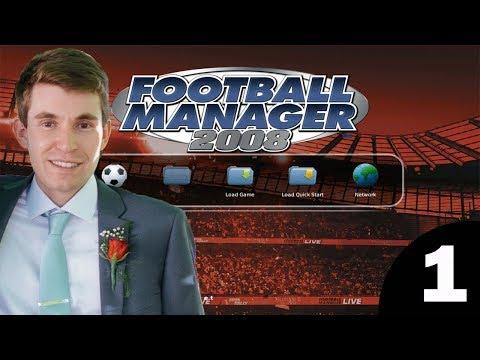 Football Manager 2008 | Episode 1 - Wonderkids