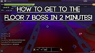Zephlym youtube for Floor 5 boss swordburst 2