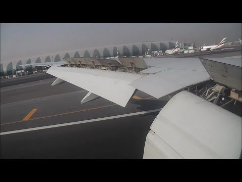 Emirates  |  EK164  |  777-300ER  |  Dublin - Dubai  |  Full Flight HD