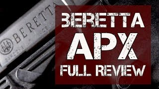 Beretta APX Review - Check out the new studio!!