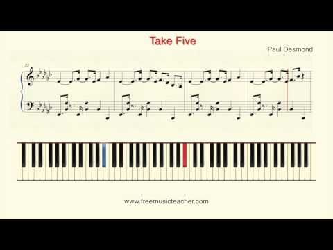How To Play Piano: Paul Desmond