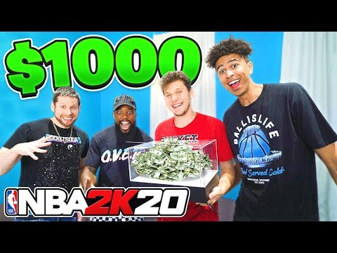 EPIC $1,000 NBA 2K20 2 vs 2 Ft Troydan, CashNasty, LSK