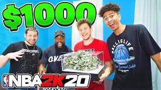 EPIC $1,000 NBA 2K20 2 vs 2 Ft Troydan, CashNasty, LSK
