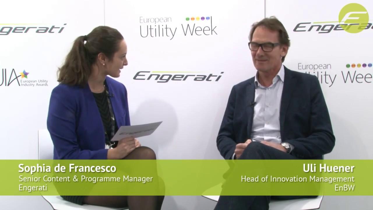 Uli Huener, Head of Innovation Management, EnBW