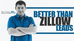 What's Better than Zillow Leads for Real Estate Agents?