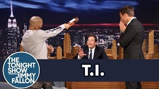 will arnett starts a beef between ti and jimmy